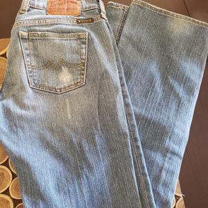 Lucky Brands Blue jeans